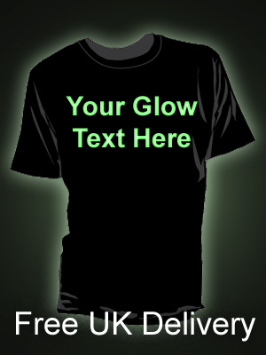 Custom Glow in the Dark T-shirt