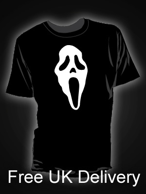 Scream Mask T-shirt