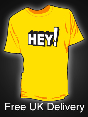 Hey! Yellow T-shirt